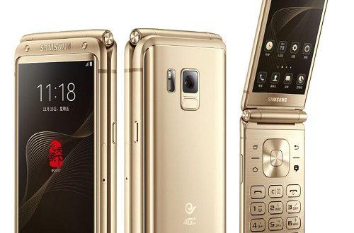 Samsung chính thức ra mắt smartphone nắp gập W2017 tại Trung Quốc