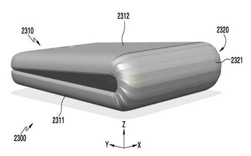 Samsung đang phát triển điện thoại có màn hình có thể gập đôi