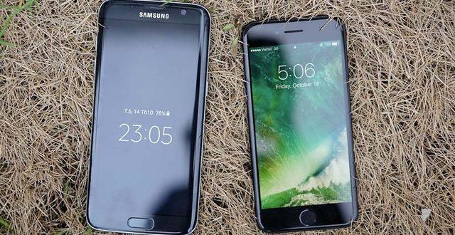 Hot: Samsung sẽ ra mắt Samsung Galaxy S7 màu đen bóng đối đầu với iPhone 7 đen bóng