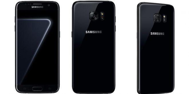 Samsung Galaxy S7 Edge đen ngọc trai chính thức lên kệ
