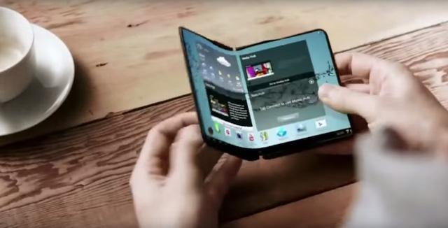 Samsung sẽ cho ra mắt 2 mẫu smarphone màn hình gập vào năm sau