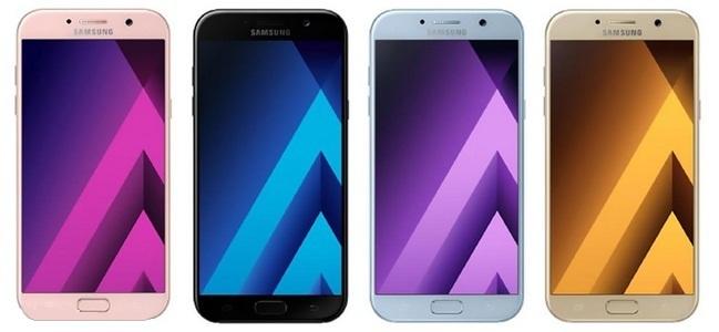 Samsung Galaxy A 2017 sẽ có khả năng chống nước như S7, S7 Edge