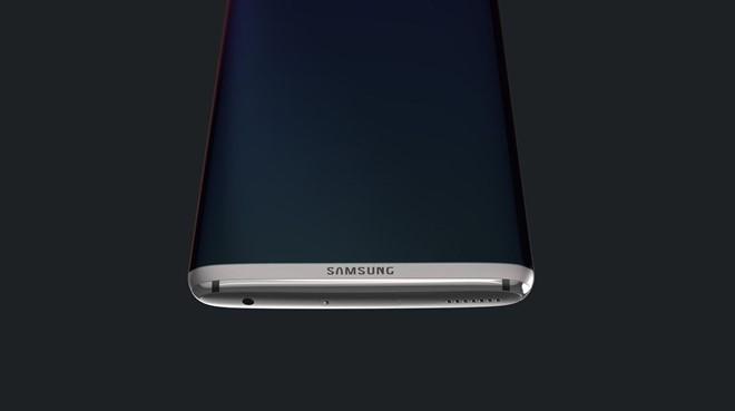 Nhiều khả năng đây là chiếc S8 không có phím Home ở mặt trước.
