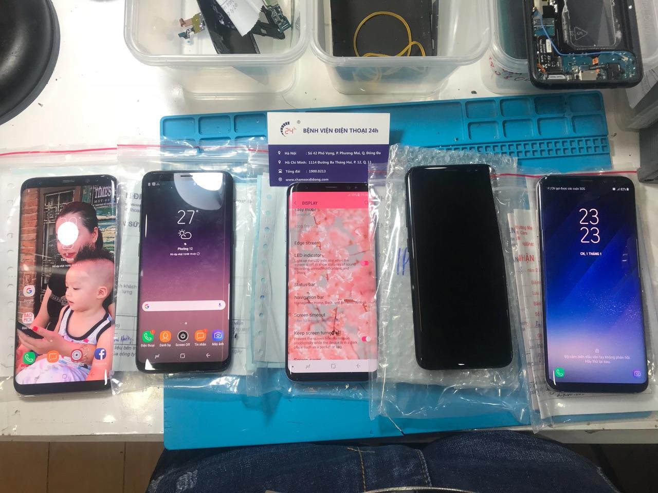 Thay màn hình mặt kính Samsung Galaxy S9, Samsung Galaxy S9 plus tại TPHCM & Hà Nội hình 4