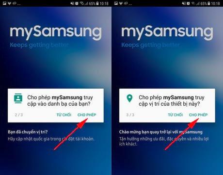 Kiểm trabảo hành điện thoạiSamsung qua MySamsung 02