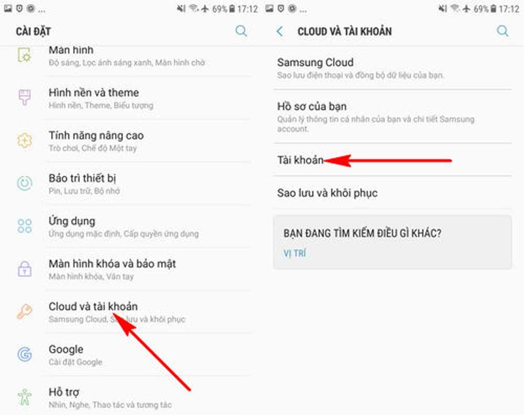 cách xóa tài khoản Samsung Account hình 1