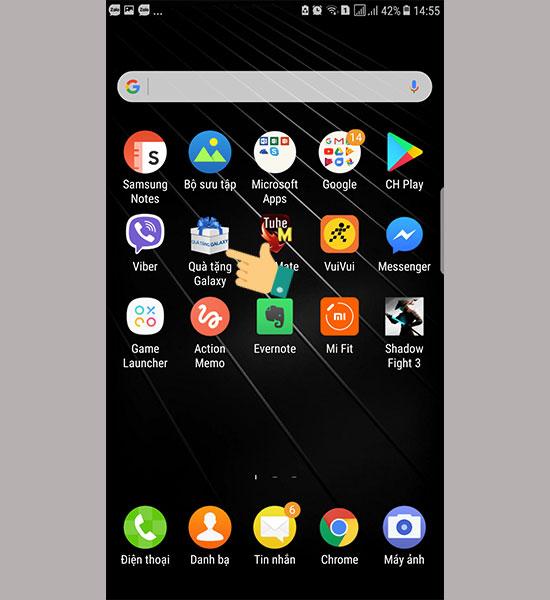 Kiểm tra bảo hành Samsung với ứng dụng Quà tặng Galaxy