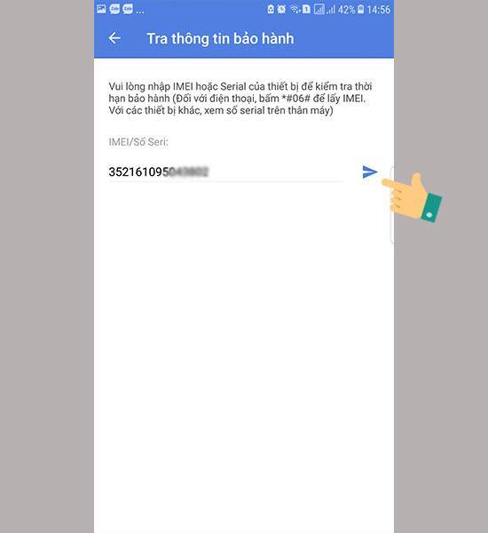 Kiểm tra bảo hành Samsung với ứng dụng Quà tặng Galaxy 02