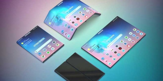 Sau màn hình gập đôi, Samsung tiếp tục nghiên cứu màn hình gập ba
