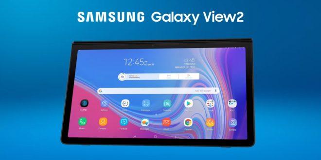 """Galaxy View 2 sắp ra mắt: Máy tính bảng """"khủng"""" của Samsung"""
