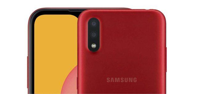Samsung Galaxy M01 sở hữu bộ nhớ 32GB, chip Qualcomm