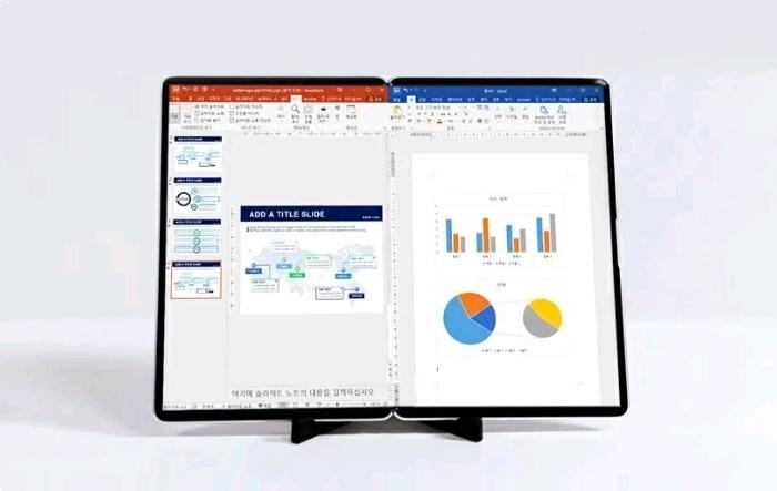 Dự kiến trong tương lai máy tính bảng mới của Samsung sẽ được sản xuất dưới dạng gập